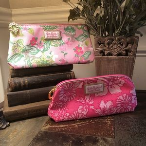 2 Lilly Pulitzer Cosmetic Bags